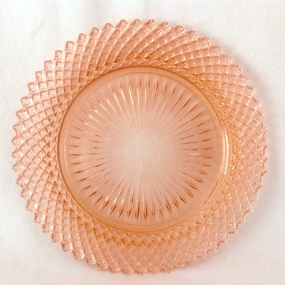Hocking Miss America Depression Glass Luncheon Plate