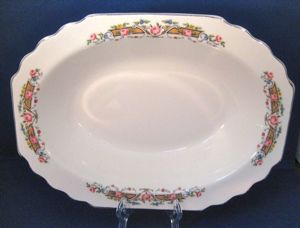 American Dinnerware WS George Flower Rim Bowl