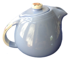 Hall rose Parade teapot no back